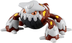 pokemon black white takaratomy figure heatran