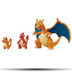 Pokemon Evolution Plastic Model Kit Charmander