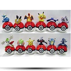 On Pokeball Figure Set Of 12