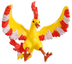 takaratomy pokemon monster collection figure moltresfire