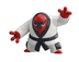 takaratomy pokemon black white figure nagekithroh