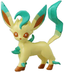 pokemon black white takaratomy figure leafeonleafia