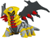 pokemon black white takaratomy figure giratina