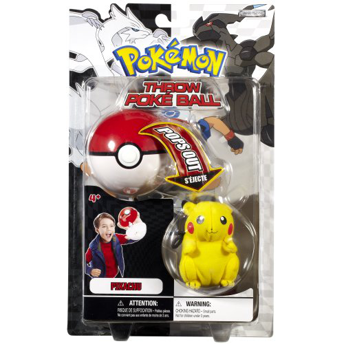 Throw Poke Ball Bw Series 1 Pikachu