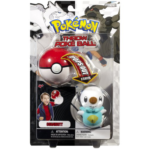 Throw Poke Ball Bw Series 1 Oshawott